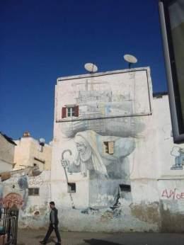 Street art in Casablanca, Morocco